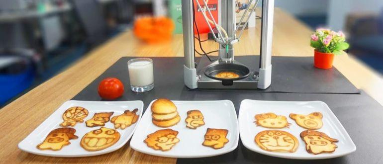 3 Д принтер для еды