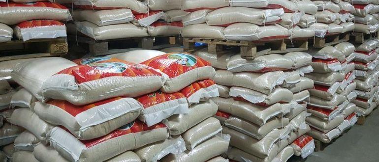 Расфасовка риса