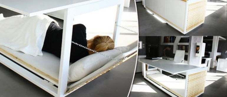Стол-кровать для офиса