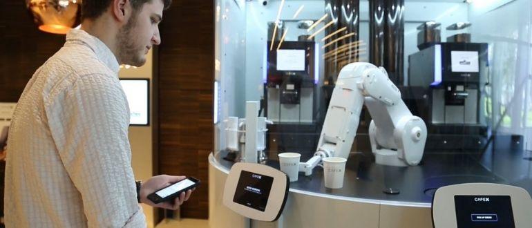 Робот для кофе