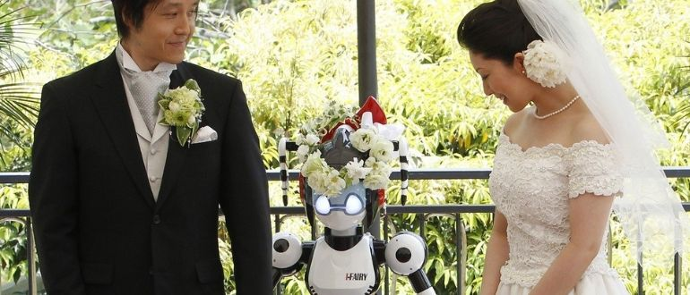 Wedding robot