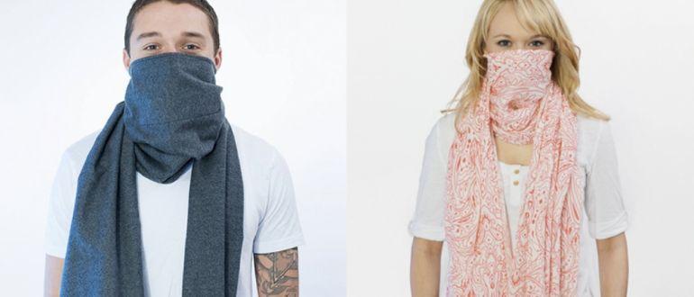 Антивирусный шарф