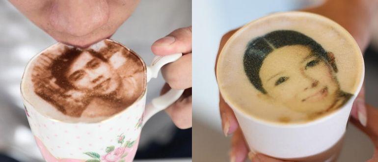 Селфи на кофе