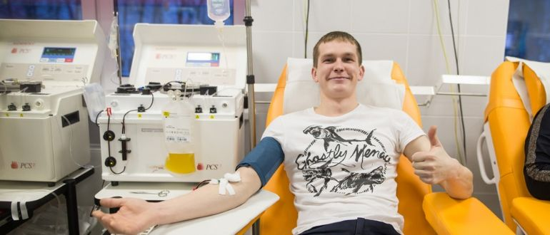Сдаем кровь