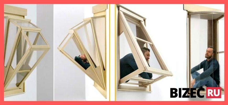 Бизнес идея - раздвижной балкон