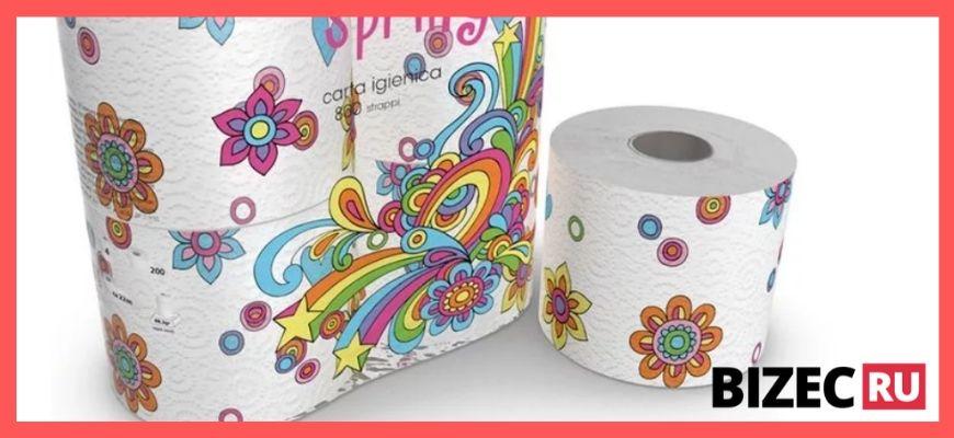Туалетная бумага для детей