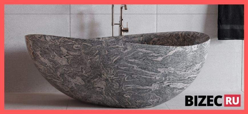 каменные эко ванны