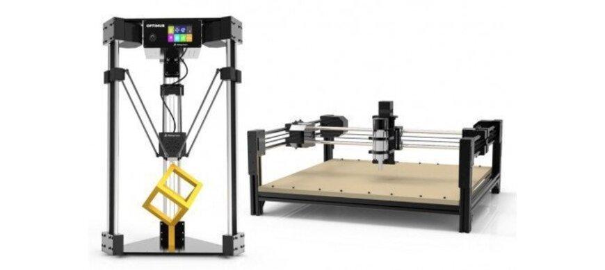 Optimus – 3D принтер трансформер