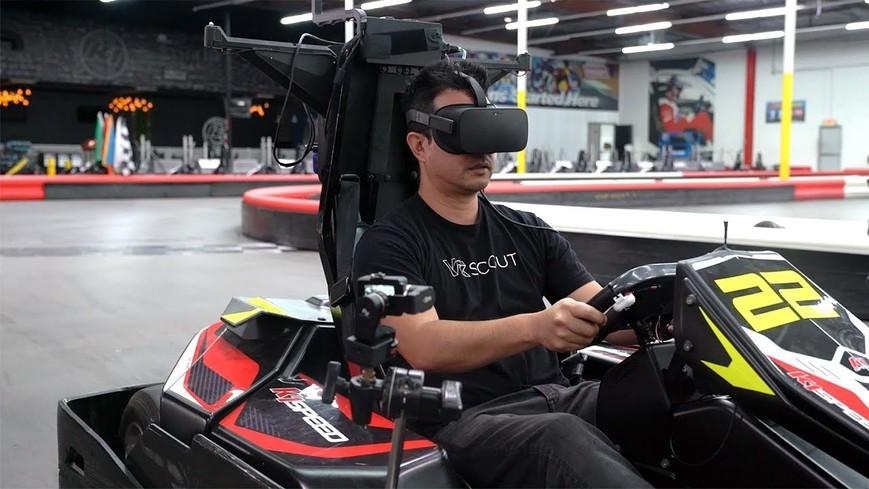 VR картинг